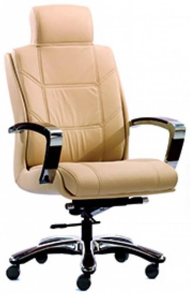 HOF Zydo Leatherette Office Chair (Black),HOF, Premium, Chairs-Stools ,Revolving Chairs ,Pushback Chairs